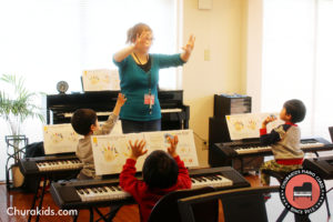 英語ピアノ教室グループレッスン