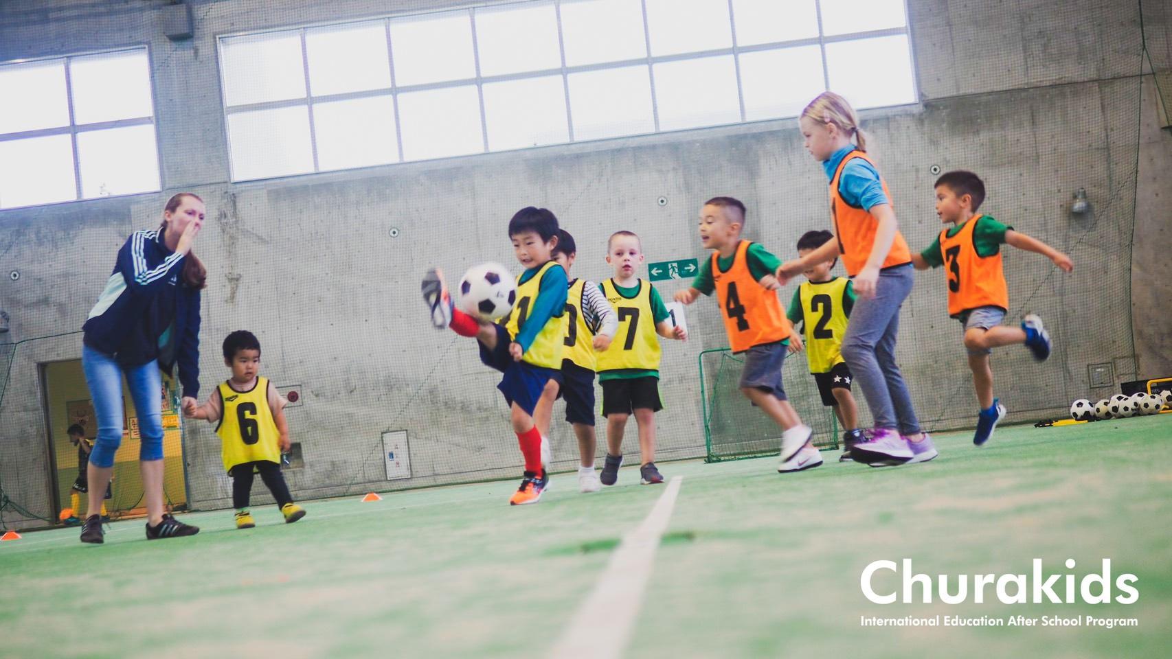沖縄市の英語サッカー教室 Churakids