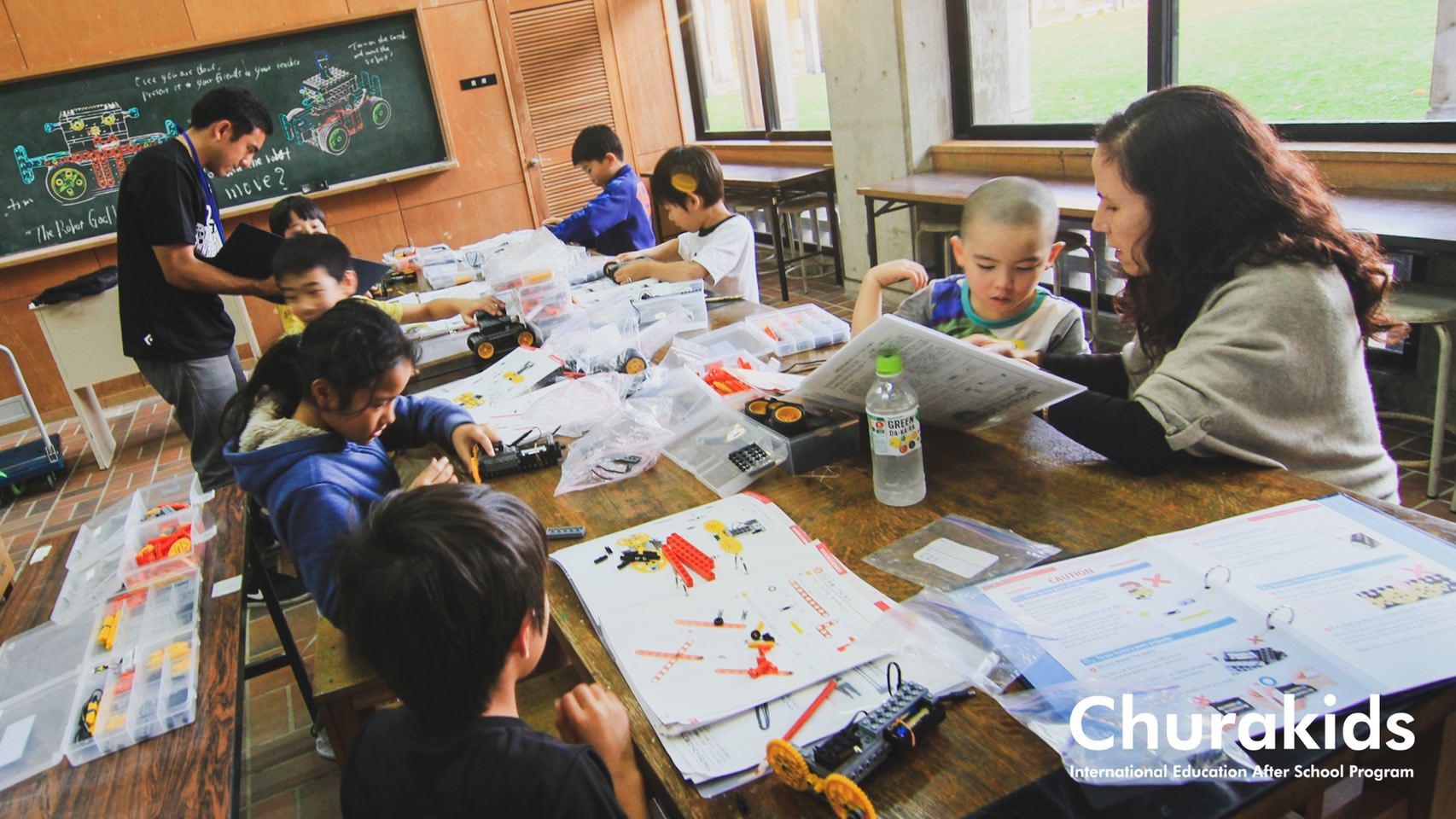 名護市の英会話教室/英語ロボット教室 Churakids
